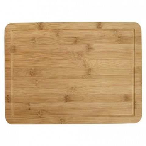 Large Bamboo Wood Chopping Board with Juice Groove